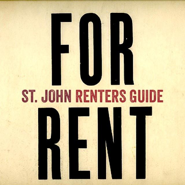 St John Renters Guide