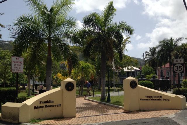 Roosevelt Park Entrance