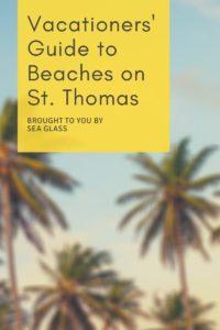 St. Thomas Beaches Off the Beaten Track